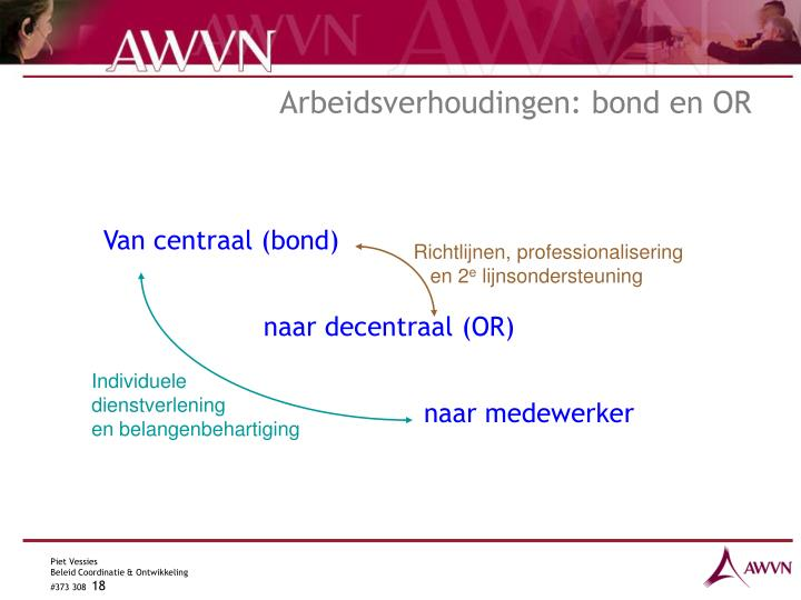 Richtlijnen, professionalisering