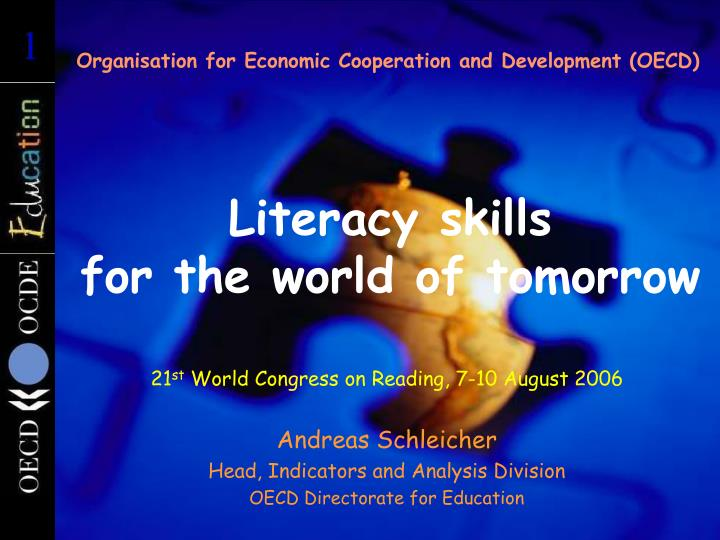 Organisation for Economic Cooperation and Development (OECD)