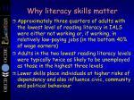 why literacy skills matter1
