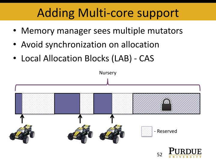 Adding Multi-core support