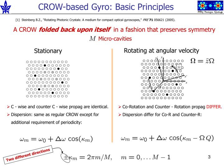 Crow based gyro basic principles