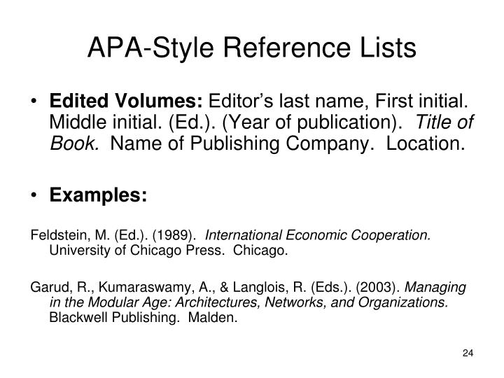 How To Write In APA Format For Dummies - EssayVikings