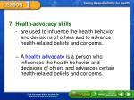 factors that affect health status7