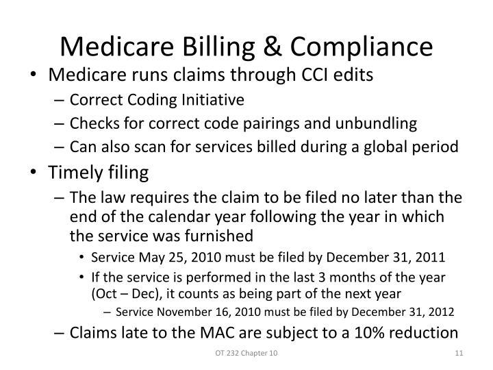 Medicare Billing & Compliance