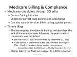 medicare billing compliance