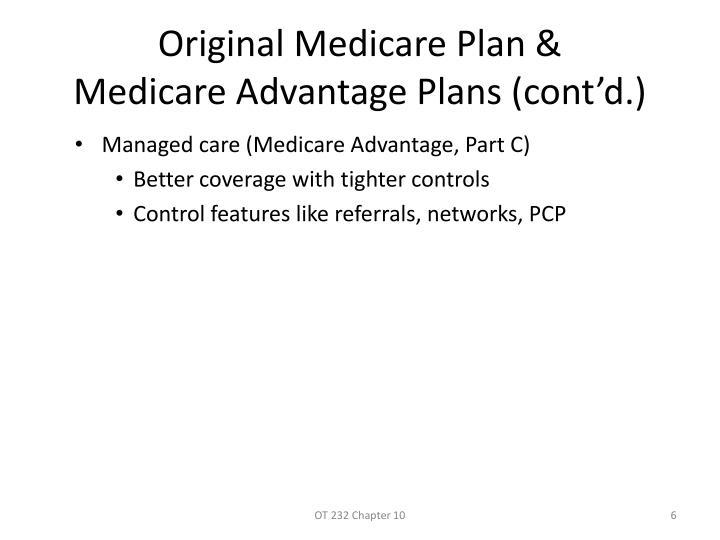 Original Medicare Plan &