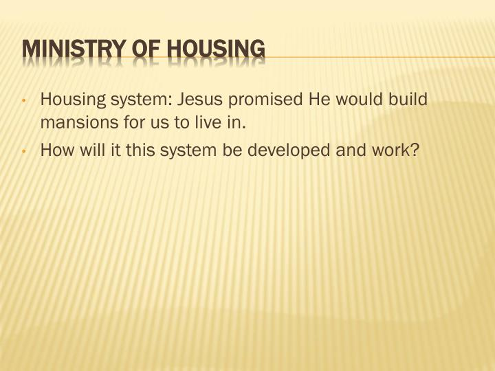 Housing system: