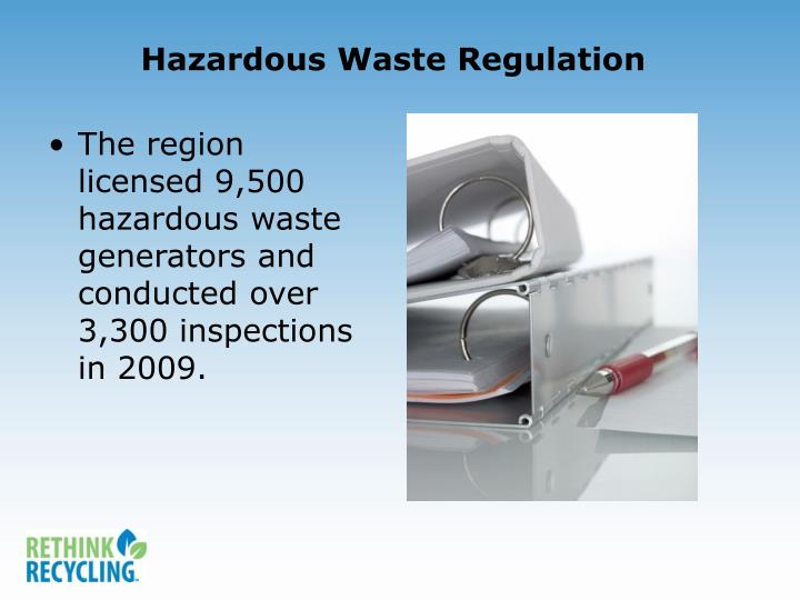 Hazardous Waste Regulation
