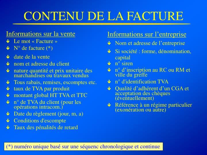 Informations sur l'entreprise
