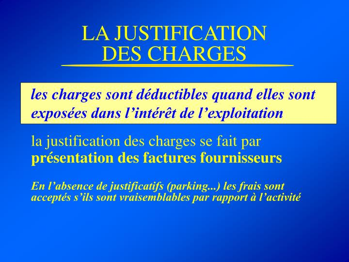 LA JUSTIFICATION