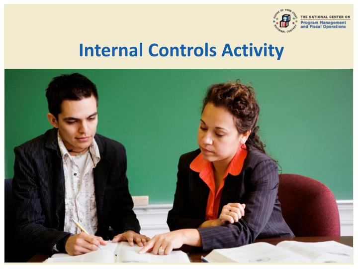 Internal Controls Activity