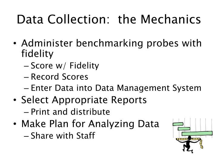 Data Collection:  the Mechanics