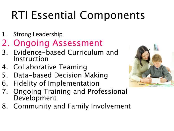 RTI Essential Components