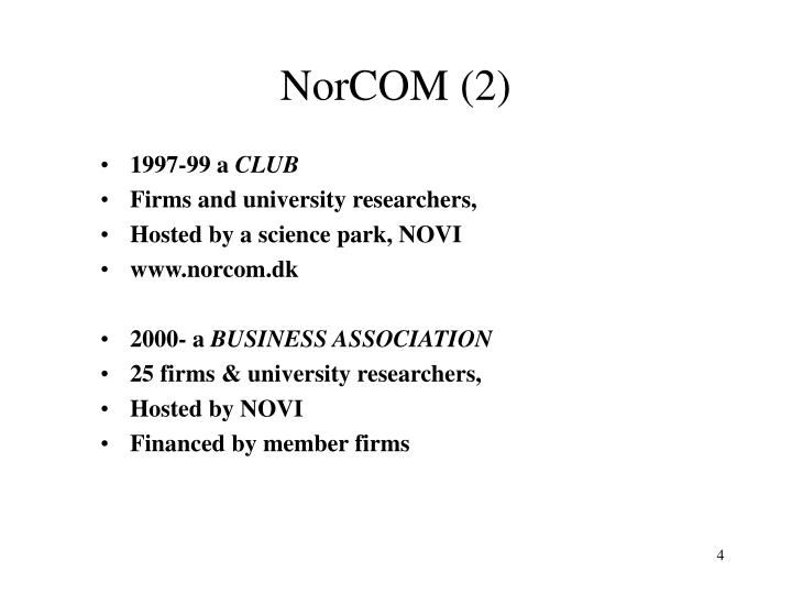 NorCOM (2)