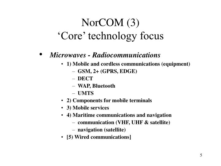 NorCOM (3)
