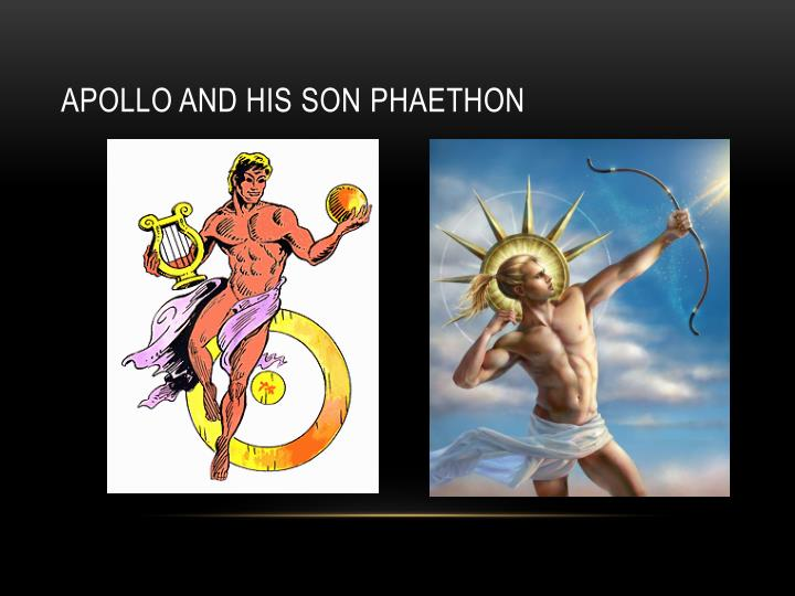 Apollo and his son