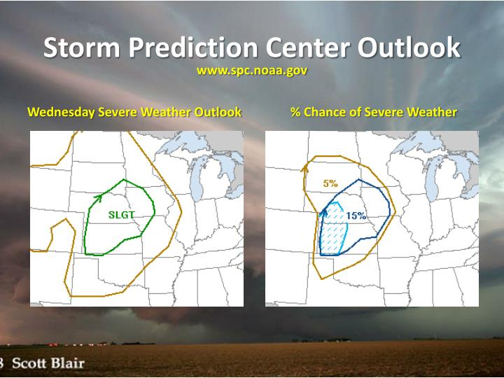 Storm Prediction Center Outlook