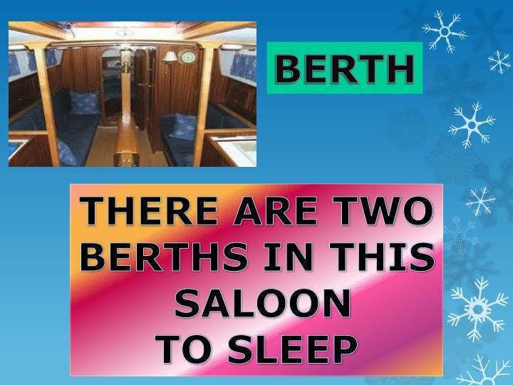BERTH