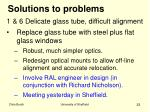 solutions to problems