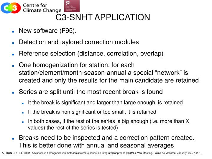 C3 snht application