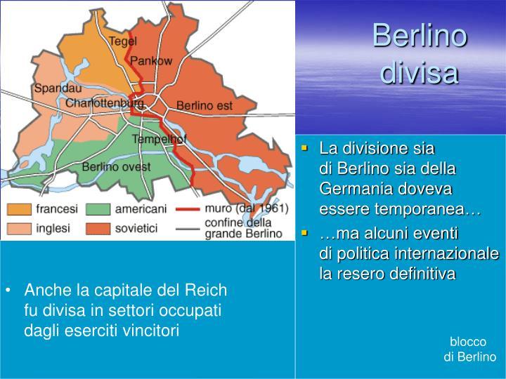 Berlino divisa