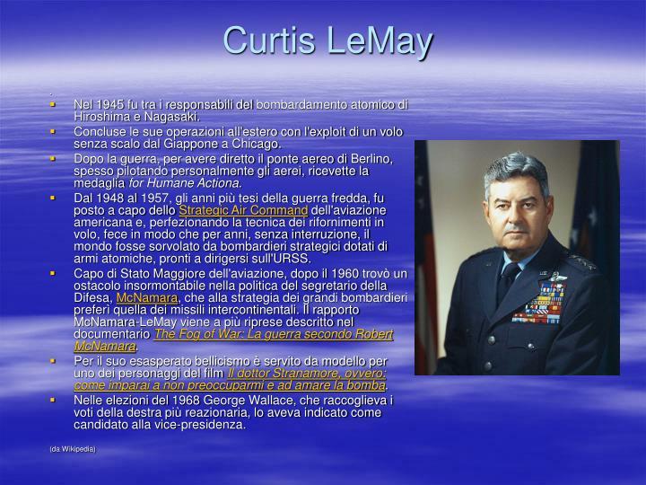Curtis LeMay