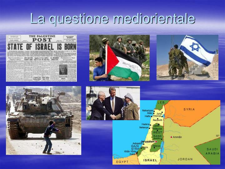 La questione mediorientale