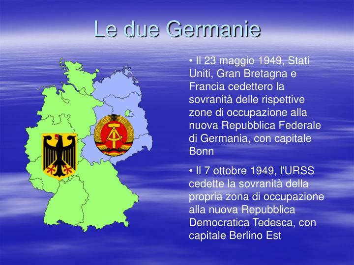 Le due Germanie