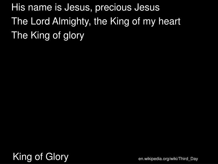 King of Glory