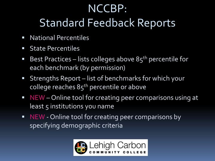 NCCBP: