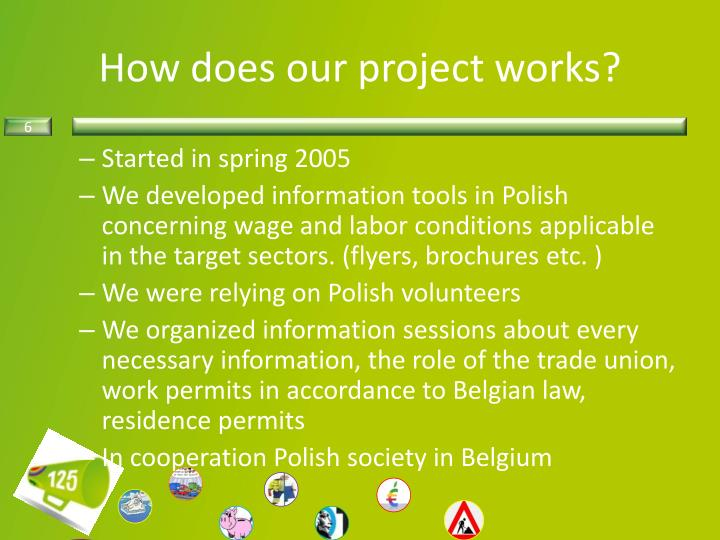 How does our project works?
