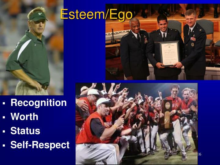 Esteem/Ego