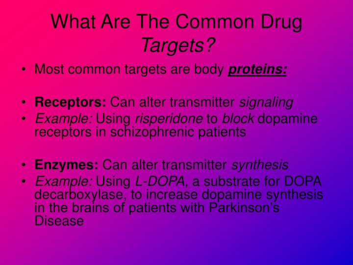 What Are The Common Drug