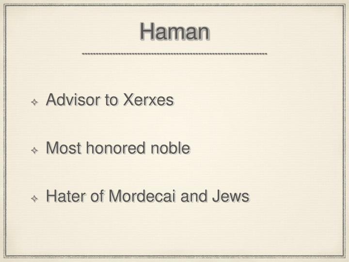 Haman