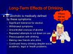 long term effects of drinking