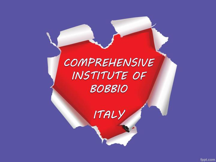 Comprehensive institute of bobbio italy