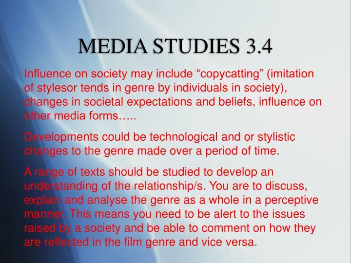 MEDIA STUDIES 3.4