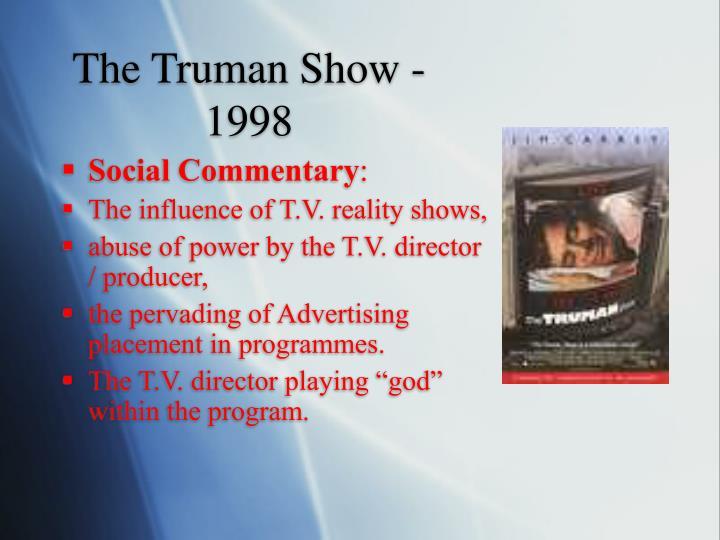 The Truman Show - 1998