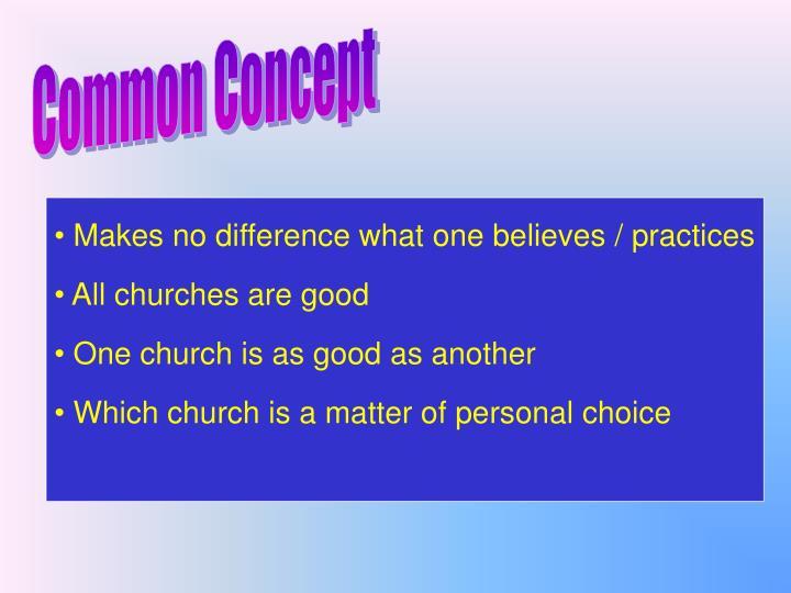 Common Concept