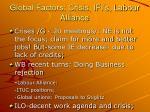 global factors crisis ifi s labour alliance