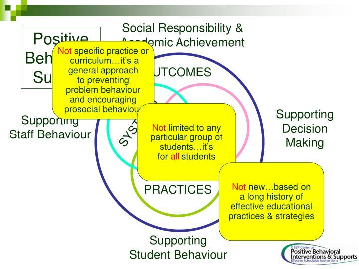 Social Responsibility &