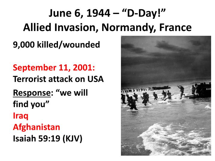 """June 6, 1944 – """"D-Day"""
