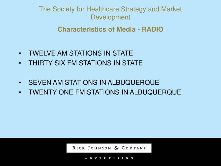 The Society for Healthcare Strategy and Market Development