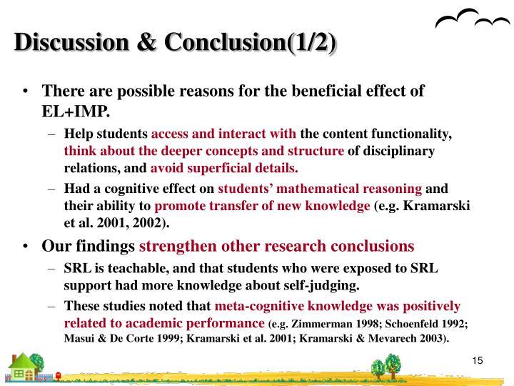 Discussion & Conclusion(1/2)