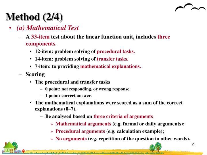 Method (2/4)