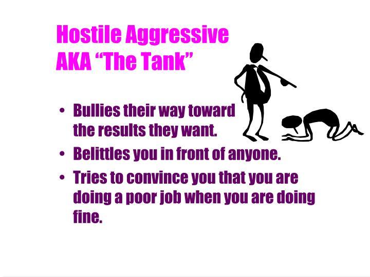 Hostile Aggressive