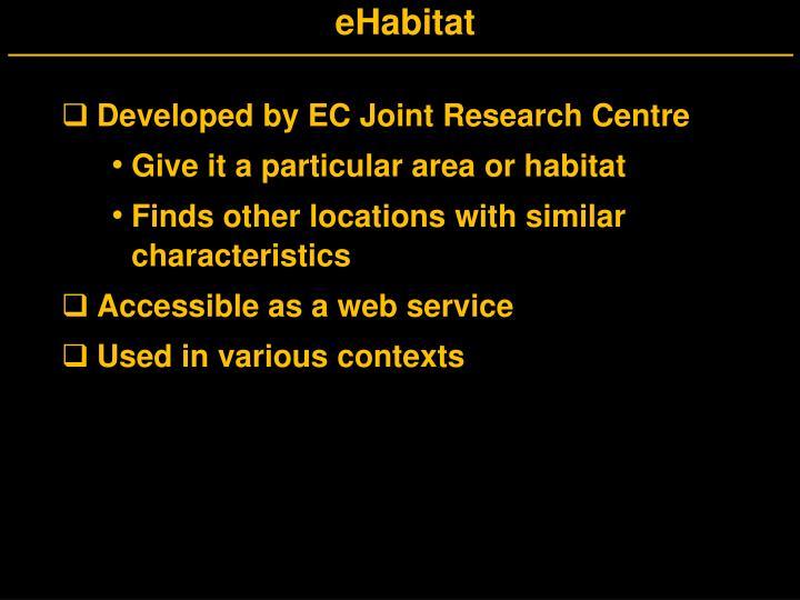 eHabitat