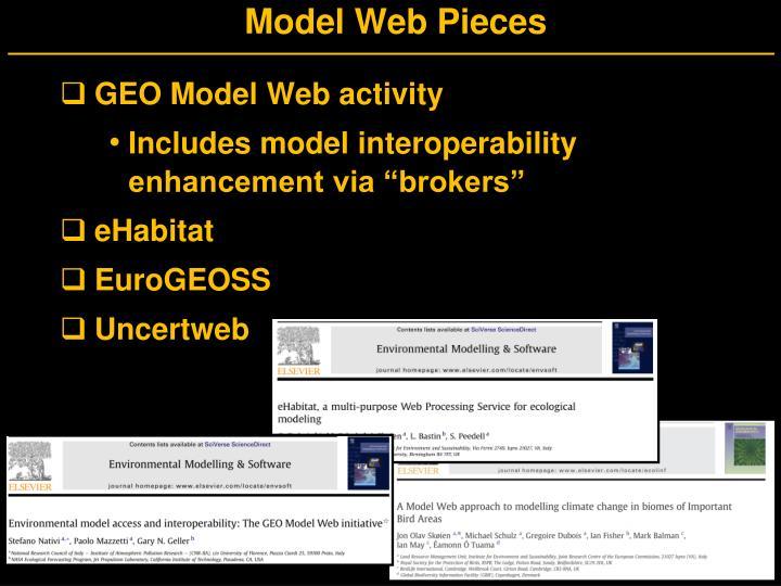 Model Web Pieces