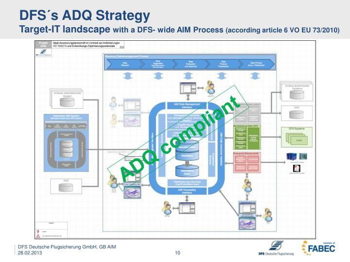 DFS´s ADQ Strategy
