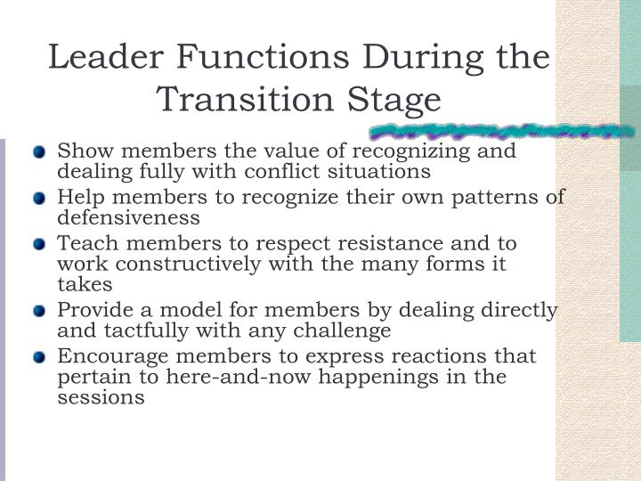 transition stage group